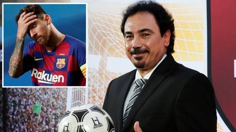 'He had no choice but to stay': Real Madrid legend Hugo Sanchez blames Lionel Messi's FATHER for Barca transfer U-turn