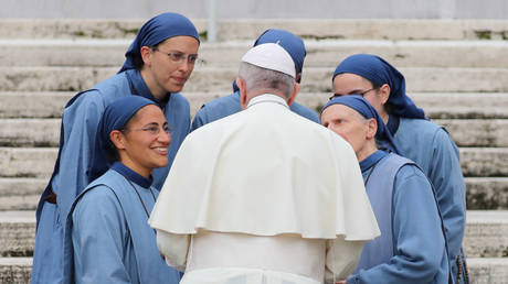 Pope Francis warns there's a 'plague WORSE than Covid'... and that is 'gossip'