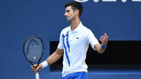 Tennis fans in shock as top-seed Novak Djokovic KICKED OUT of US Open after hitting judge with ball