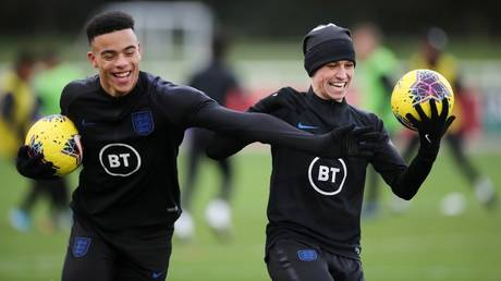 Quarantine breach: Mason Greenwood and Phil Foden have been accused