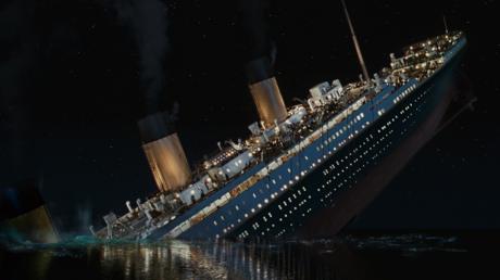 'Titanic' (1997) Dir: James Cameron © Paramount Pictures; 20th Century Fox; Lightstorm Entertainment