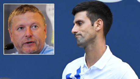Evgeny Kafelnikov has discussed Novak Djokovic's US Open disqualification © Brian Snyder via Reuters | © Danielle Parhizkaran / USA Today Sports via Reuters