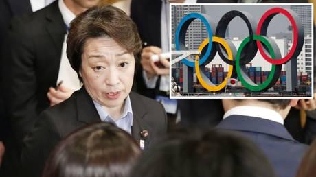 Steadfast: Japan's Olympic minister Seiko Hashimoto