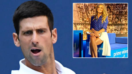 Novak Djokovic (left) has been backed by Daniela Hantuchova (right) and Matija Beckovic © Danielle Parhizkaran / USA Today Sports via Reuters   © Instagram / danielahantuchova