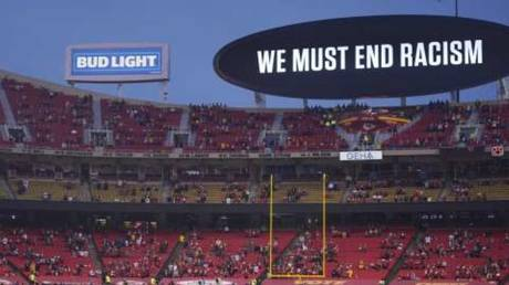 Many fans bristled at being immersed in preachy political messages in the NFL's season opener.