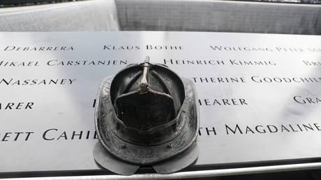 9/11 memorial in NYC © Reuters / Carlos Allegri
