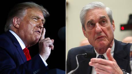 Donald Trump ad Robert Mueller © Reuters / Jonathan Ernst and Leah Millis
