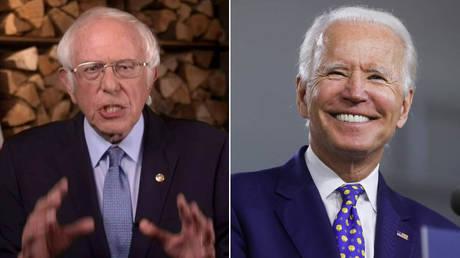 Bernie Sanders and Joe Biden © Reuters / 2020 Democratic National Convention and Jonathan Ernst