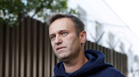 FILE PHOTO. Russian opposition figure Alexey Navalny.