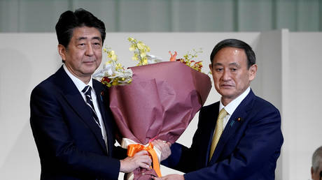 Japan's whole cabinet resigns – including Prime Minister Abe – ahead of parliament vote to confirm new leader