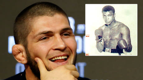 'We are both champions and Muslims': Russian UFC king Khabib says it is WRONG to compare him with ring legend Muhammad Ali (VIDEO)