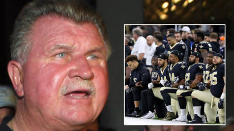 Mike Ditka has offered his forthright views on kneeling in the NFL © John Gress / Reuters   © Chuck Cook / USA Today Sports via Reuters