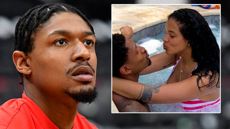 'I feel SORRY for your mom': FEUDING basketball WAG demands fans 'stay in their place' after husband is left out of All-NBA lineup