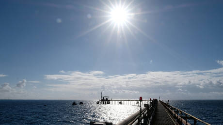 Pipelines are seen at Zueitina oil terminal, in west of Benghazi, Libya, February 3, 2020. © Reuters / Esam Omran Al-Fetori