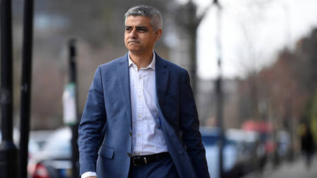 Mayor of London Sadiq Khan arrives to participate in a rally to support his re-election campaign in London, Britain March 3, 2020