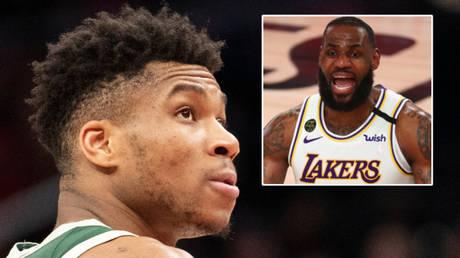 Giannis Antetokounmpo has eclipsed LeBron James to win the NBA's MVP award © Tommy Gilligan / USA Today Sports | © Kim Klement / USA Today Sports