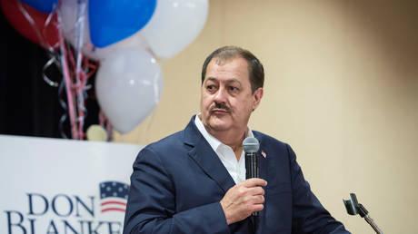 FILE PHOTO: Don Blankenship during his 2018 Senate campaign