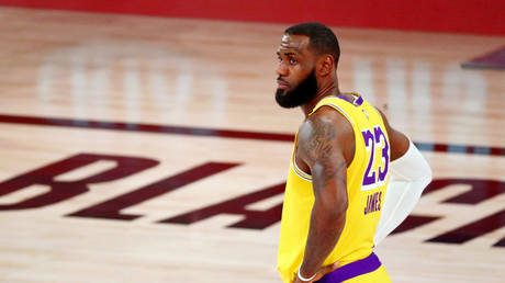 NBA star LeBron James was unhappy at his MVP snub. © USA Today Sports