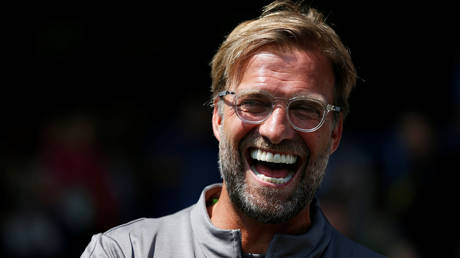 Liverpool manager Jurgen Klopp is reportedly set to add Diogo Jota to his squad. © Reuters