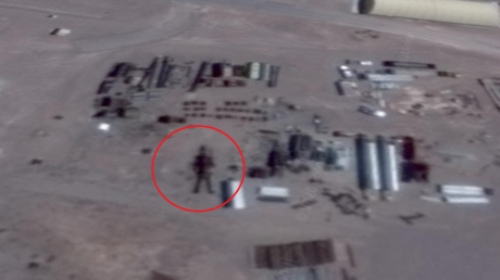 UFO hunter claims to have discovered '16-meter tall alien robot' in Area 51 Google Earth image - rt
