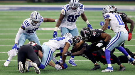 The Dallas Cowboys and Atlanta Falcons served up a comedic NFL episode. © Getty Images