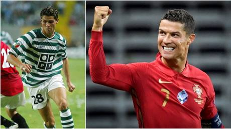 Cristiano Ronaldo will be honored by former club Sporting Lisbon. © Reuters