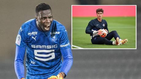 Curtains for Kepa? Chelsea continue summer spending spree with arrival of $28 MILLION goalkeeper Edouard Mendy
