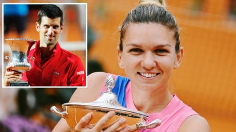 'Fragile masculinity and misogyny': Italian Open SLAMMED as women's champ Simona Halep wins $11 LESS than Novak Djokovic