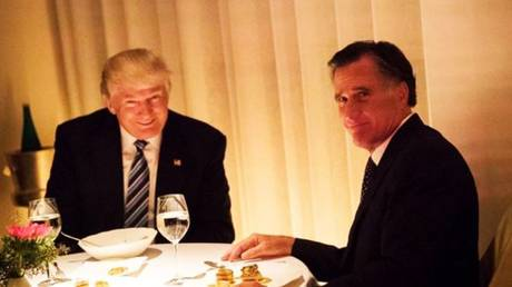 Romney (R) dined with Trump in 2016, when he made a failed bid to get the job as secretary of state in the new administration.
