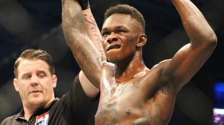 Focusing on a finish: UFC middleweight champ Israel Adesanya