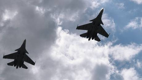 FILE PHOTO. Su-30 fighter jets.
