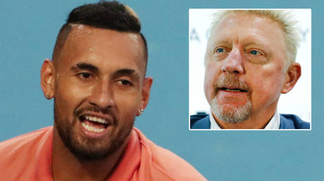 'He's in DESPERATE need of a paycheck': Tennis ace Kyrgios claims ex-Djokovic coach Becker offered to WORK with him in latest spat
