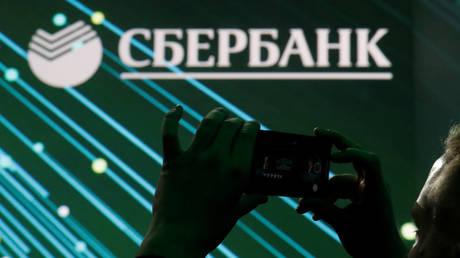 FILE PHOTO: The logo of Russian bank Sberbank © Reuters / Maxim Shemetov