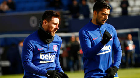 Messi has been angered by the departure of Suarez from Barcelona. © Reuters