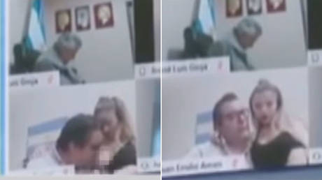 Stop forgetting to turn off camera: Argentinian MP resigns after sucking on woman