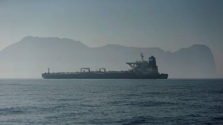 FILE PHOTO: Iranian oil tanker Grace 1 © Reuters / Jon Nazca