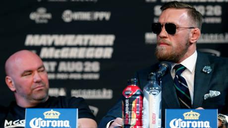 Dana White is unimpressed with Conor McGregor. © Reuters