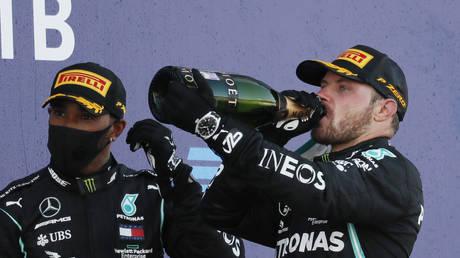 Flying Finn Bottas fires foul-mouthed tirade at 'critics' after winning Russian Grand Prix (VIDEO)