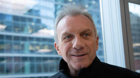 Former NFL star Joe Montana is shown during a 2019 interview in Toronto.