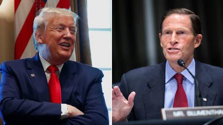 Trump attacks 'Hanoi Dick' Blumenthal for lying about Vietnam, as Dem senators refuse to meet SCOTUS pick Amy Coney Barrett