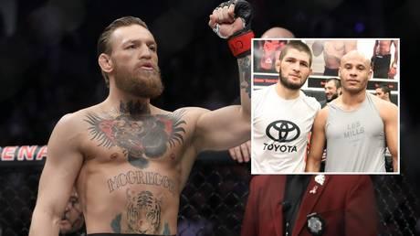 Conor McGregor won't be boxing in the Middle East, says the manager of former UFC rival Khabib Nurmagomedov, Ali Abdelaziz. © Getty Images / Instagram @aliabdelaziz000