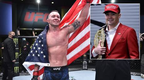 UFC's Colby Covington is a big fan of US President Donald Trump. © Zuffa LLC via Getty Images / Instagram @colbycovmma