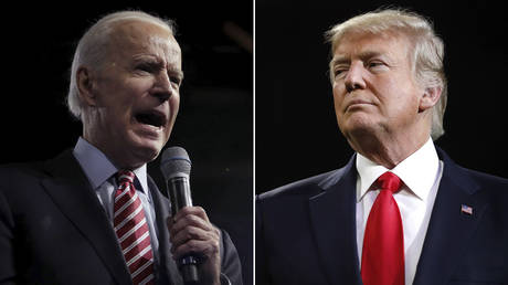 (L) Joe Biden © Getty Images/Scott Olson; (R) Donald Trump © Getty Images/Jamie Squire