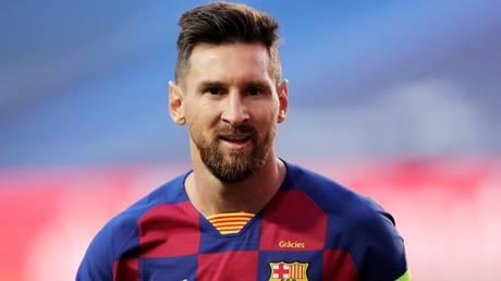 Building bridges: Barcelona ace Lionel Messi