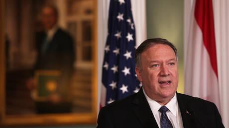 FILE PHOTO: U.S. Secretary of State Mike Pompeo