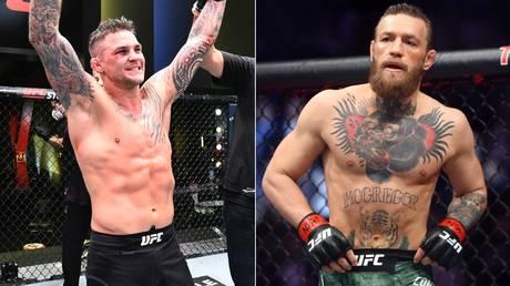 Future fight: Dustin Poirier and Conor McGregor