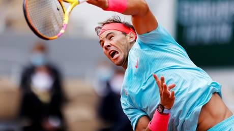 Championship form: Rafael Nadal
