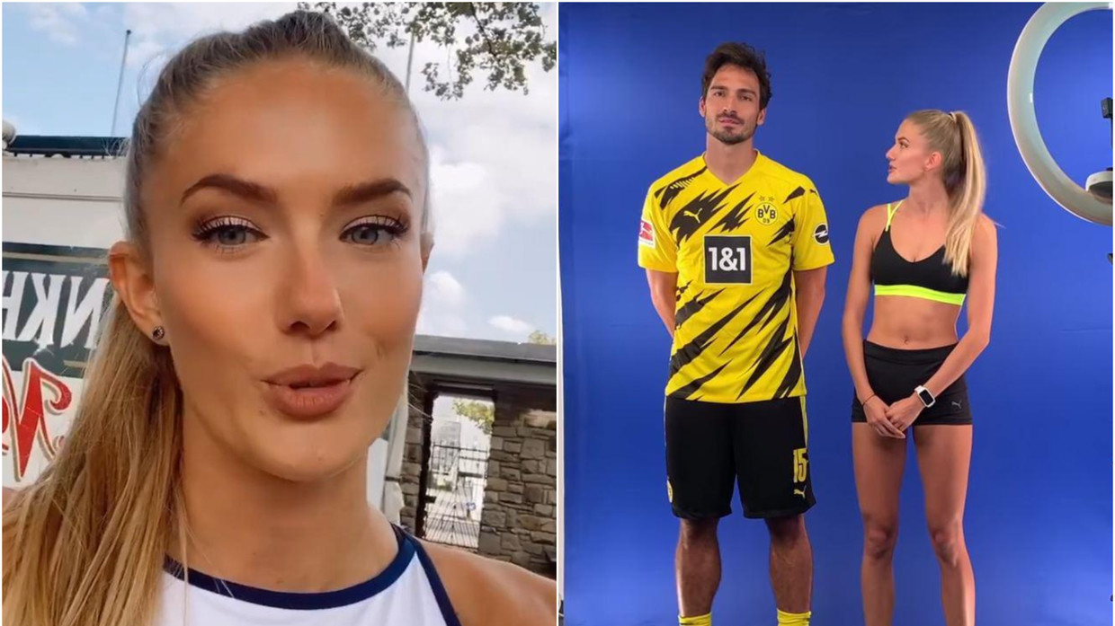 I Really Underestimated It World S Sexiest Athlete Alica Schmidt Leaves Dortmund World Cup Winner Flat Out In 400m Race Rt Sport News