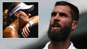 Bubble trouble: Tennis ace who was forced out of US Open after POSITIVE coronavirus test calls Grand Slam lockdown a 'FAKE BUBBLE'