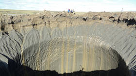 The plot thickens! Another GIANT crater appears in Siberia, making it vast Russian territory's 17th mystery pit  (PHOTOS,VIDEOS)